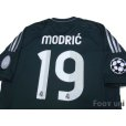 Photo4: Real Madrid 2012-2013 3rd Shirt #19 Modric Champions League Patch/Badge w/tags (4)