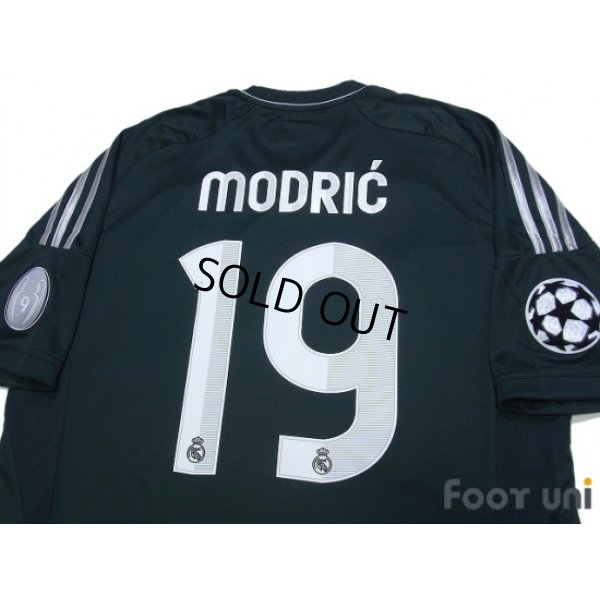 Photo4: Real Madrid 2012-2013 3rd Shirt #19 Modric Champions League Patch/Badge w/tags