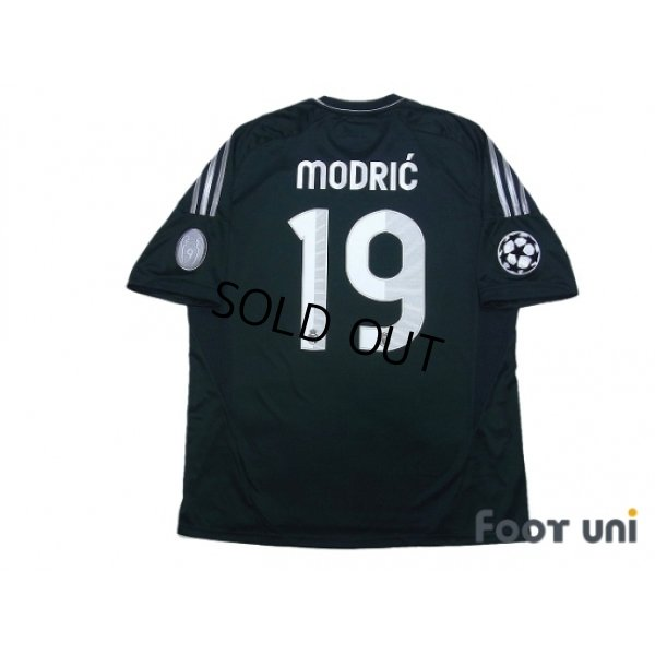 Photo2: Real Madrid 2012-2013 3rd Shirt #19 Modric Champions League Patch/Badge w/tags