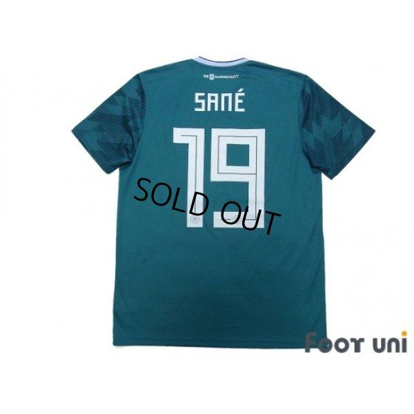 Photo2: Germany 2018 Away Shirt #19 Leroy Sane FIFA World Champions 2014 Patch/Badge