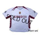 Aston Villa 2006-2007 Away Shirt #15 Agbonlahor BARCLAYS PREMIERSHIP Patch/Badge