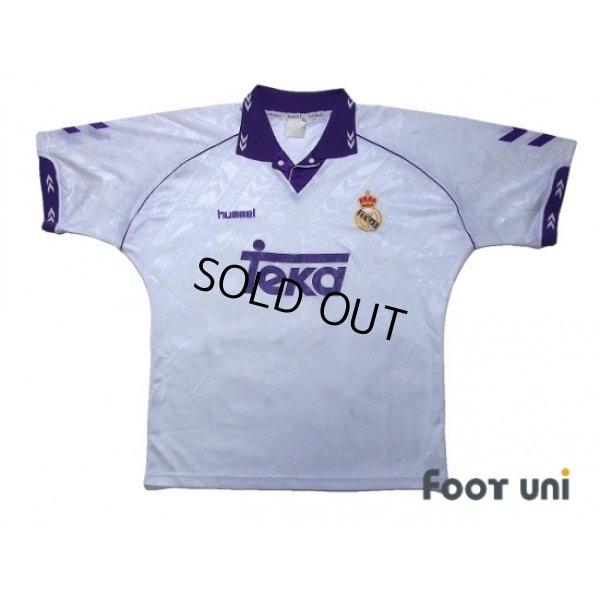 Photo1: Real Madrid 1993-1994 Home Shirt