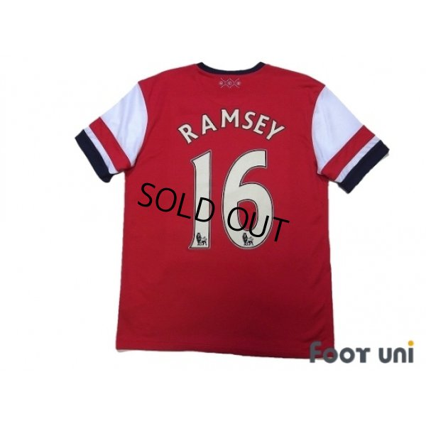 Photo2: Arsenal 2012-2013 Home Shirt #16 Ramsey