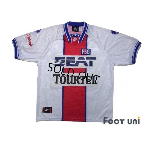 Photo1: Paris Saint Germain 1994-1995 Away Shirt