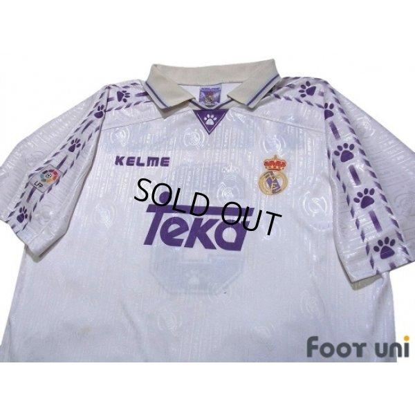 Photo3: Real Madrid 1996-1997 Home Shirt #3 Roberto Carlos LFP Patch/Badge
