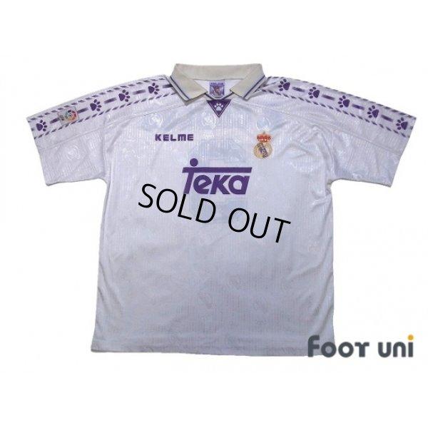 Photo1: Real Madrid 1996-1997 Home Shirt #3 Roberto Carlos LFP Patch/Badge
