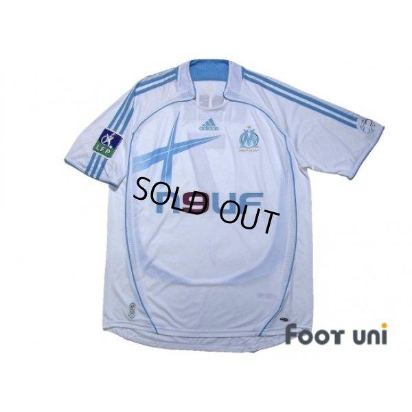 Photo1: Olympique Marseille 2006-2007 Home Shirt #7 Ribery LFP Patch/Badge