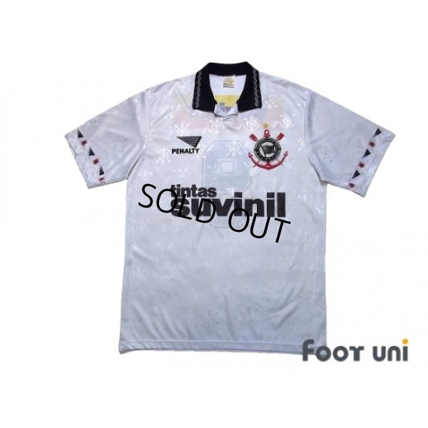 Photo1: Corinthians 1995 Home Shirt #9