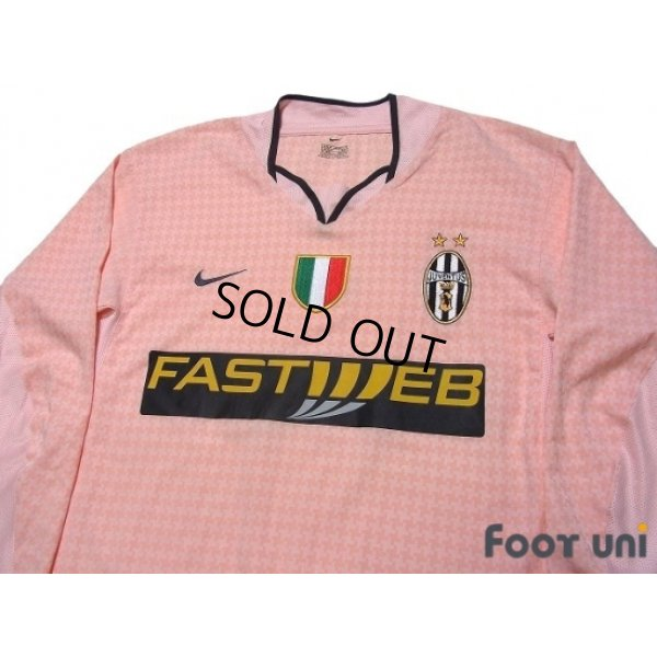 Photo3: Juventus 2003-2004 Away Long Sleeve Shirt Scudetto Patch/Badge