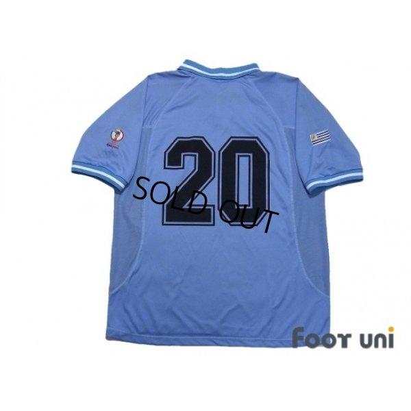 Photo2: Uruguay 2002 Home Shirt #20