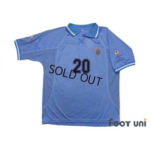 Photo1: Uruguay 2002 Home Shirt #20