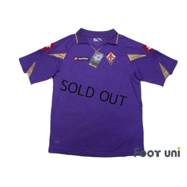 Photo1: Fiorentina 2010-2011 Home Shirt w/tags