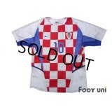 Croatia 2002 Home Authentic Shirt #10