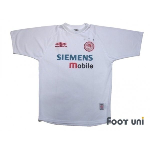 Photo1: Olympiacos 2001-2002 Away Shirt