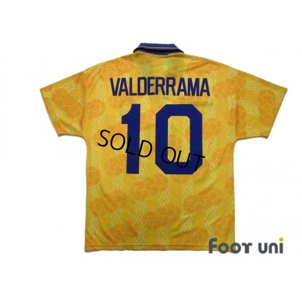 Photo2: Colombia 1994 Home Shirt #10 Valderrama