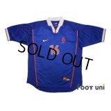 Netherlands 1998 Away Shirt #16 Davids