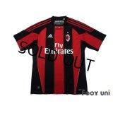 AC Milan 2010-2011 Home Shirt #11 Ibrahimovic