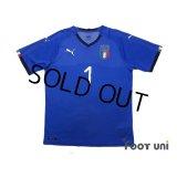 Italy 2018 Home Shirt #1 Buffon