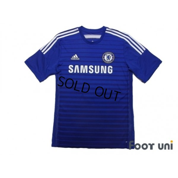 Photo1: Chelsea 2014-2015 Home Shirt #4 Cesc Fabregas