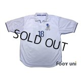 Italy 1998 Away Reprint Shirt #18 Baggio R.