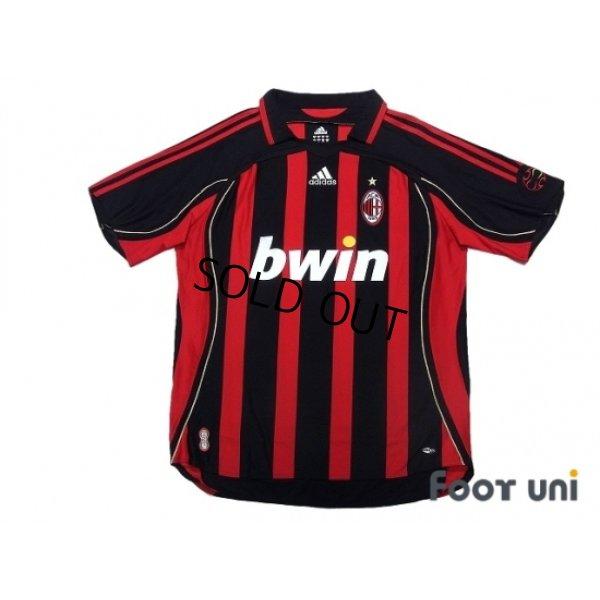 Photo1: AC Milan 2006-2007 Home Shirt