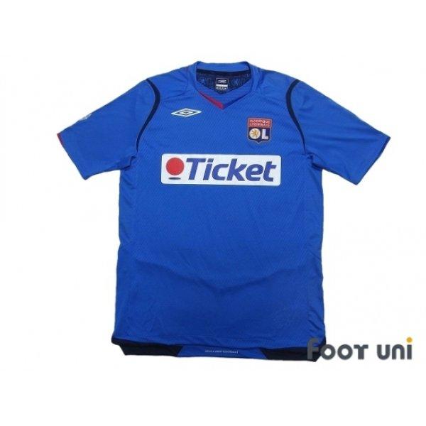 Photo1: Olympique Lyonnais 2008-2009 Away Shirt