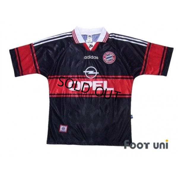 Photo1: Bayern Munich 1997-1999 Home Shirt #10 Matthaus