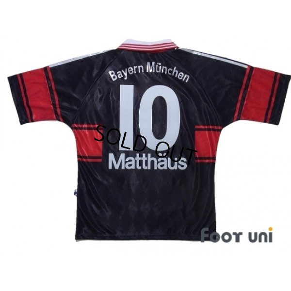 Photo2: Bayern Munich 1997-1999 Home Shirt #10 Matthaus