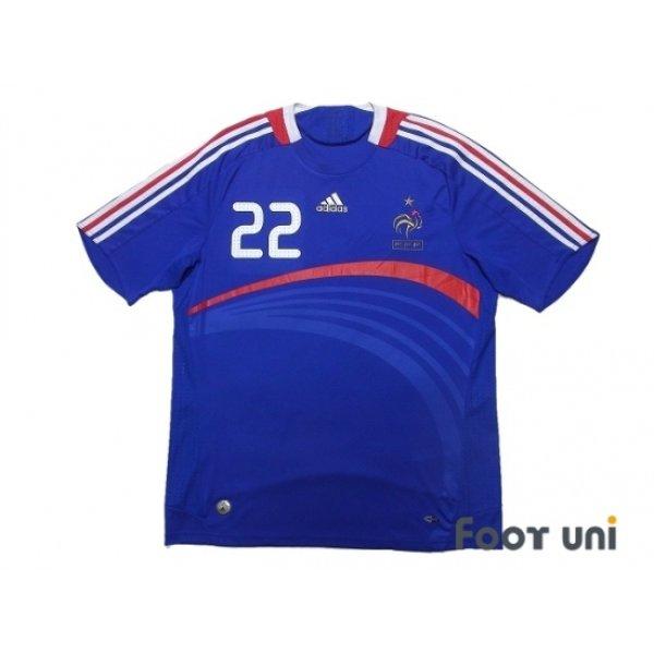 Photo1: France Euro 2008 Home Shirt #22 Ribery