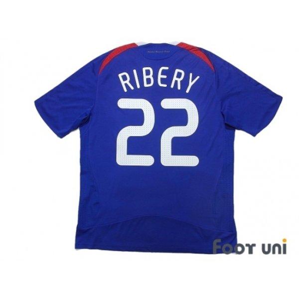 Photo2: France Euro 2008 Home Shirt #22 Ribery