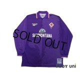 Fiorentina 1995-1996 Home Long Sleeve Shirt #9 Batistuta
