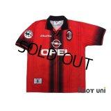 AC Milan 1997-1998 4TH Shirt #10 Savicevic Lega Calcio Patch/Badge