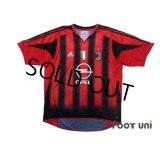 AC Milan 2004-2005 Home Shirt #3 Maldini Scudetto Patch/Badge