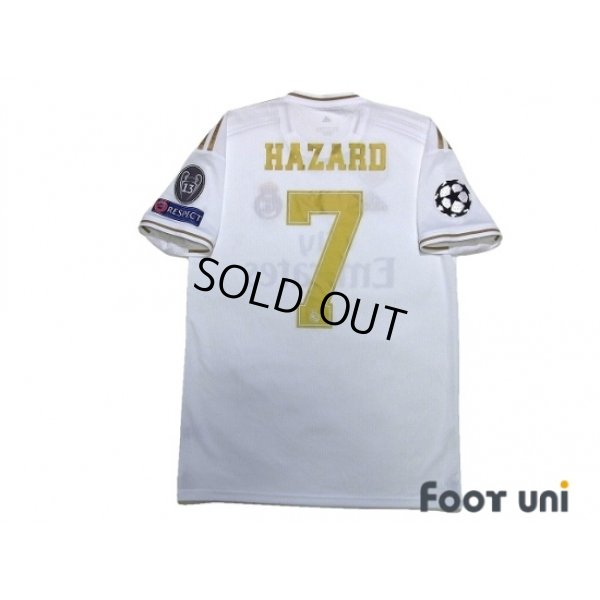 Photo2: Real Madrid 2019-2020 Home Shirts and shorts Set #7 Hazard Champions League Patch/Badge