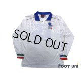 Italy 1995 Away Player Long Sleeve Shirt #15