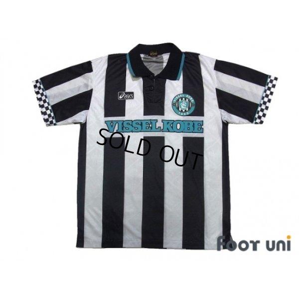 Photo1: Vissel Kobe 1995-1996 Home Shirt