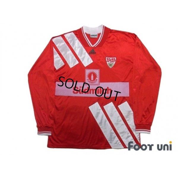 Photo1: VfB Stuttgart 1994-1995 Away Long Sleeve Shirt