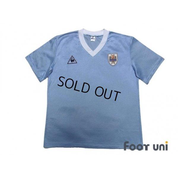 Photo1: Uruguay 1986 Home Shirt
