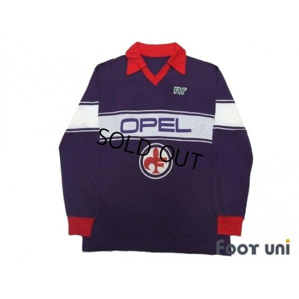 Photo1: Fiorentina 1984-1985 Home Long Sleeve Shirt #10