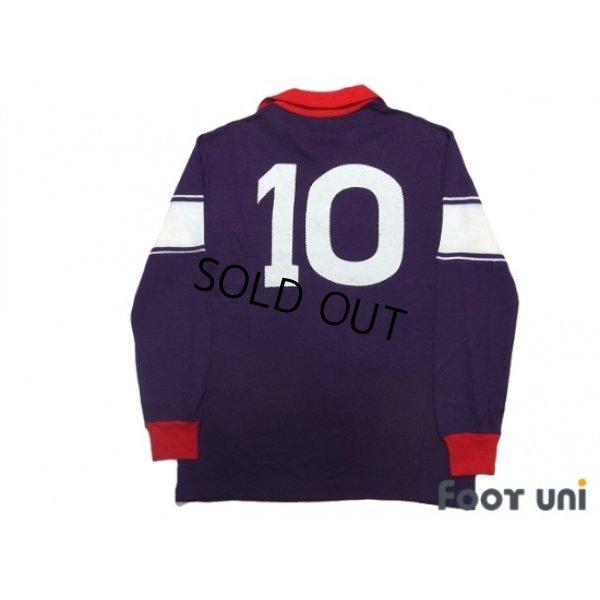 Photo2: Fiorentina 1984-1985 Home Long Sleeve Shirt #10