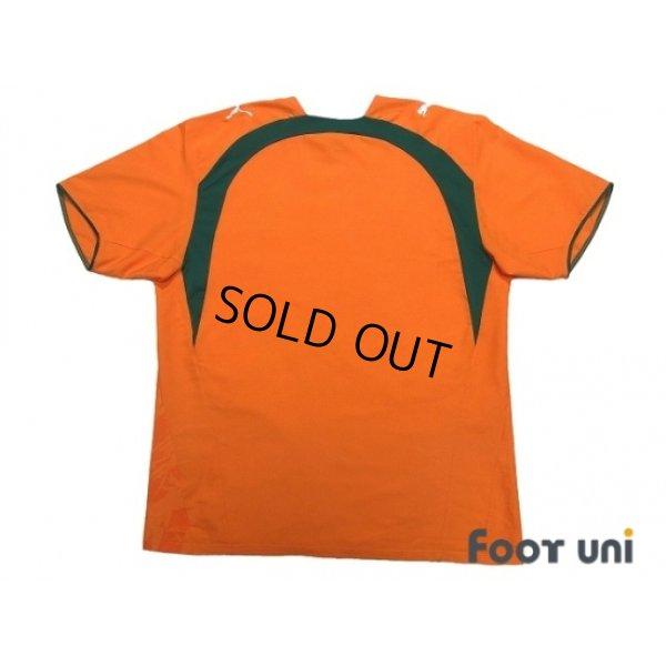 Photo2: Cote d'Ivoire 2006 Home Shirt