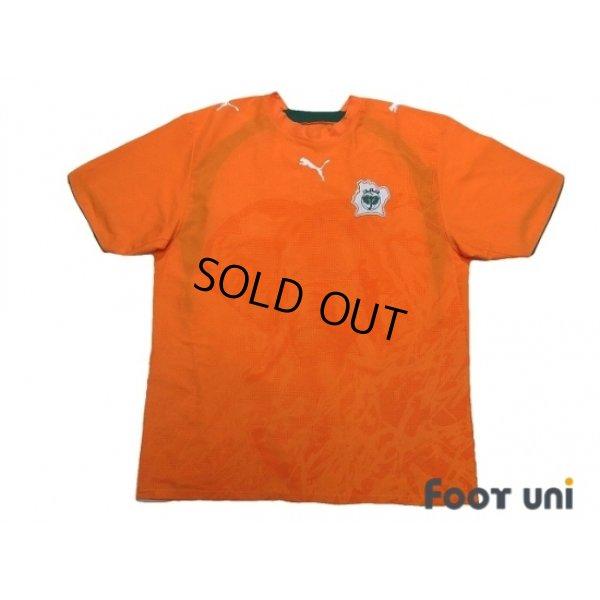 Photo1: Cote d'Ivoire 2006 Home Shirt