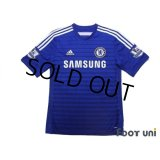 Chelsea 2014-2015 Home Shirt #4 Fabregas BARCLAYS PREMIER LEAGUE Patch/Badge