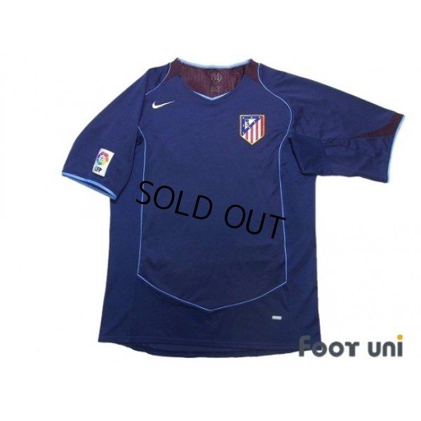 Photo1: Atletico Madrid 2004-2005 Away Shirt LFP Patch/Badge