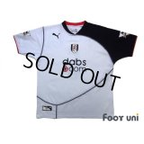 Fulham 2003-2005 Home Shirt #6 Junichi Inamoto Barclaycard Premiership Patch/Badge