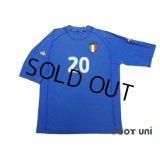 Italy Euro 2000 Home Shirt #20 Totti