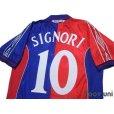 Photo4: Bologna 2000-2001 Home Shirt #10 Signori