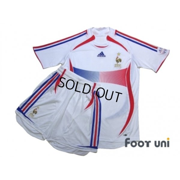 Photo1: France 2006 Away Shirt and Shorts Set