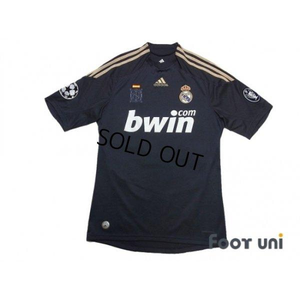 Photo1: Real Madrid 2009-2010 3rd Shirt #9 Ronaldo Champions League Patch/Badge