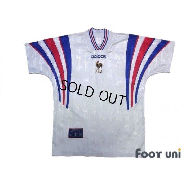 Photo1: France Euro 1996 Away Shirt